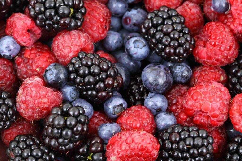 Un apport élevé en antioxydants